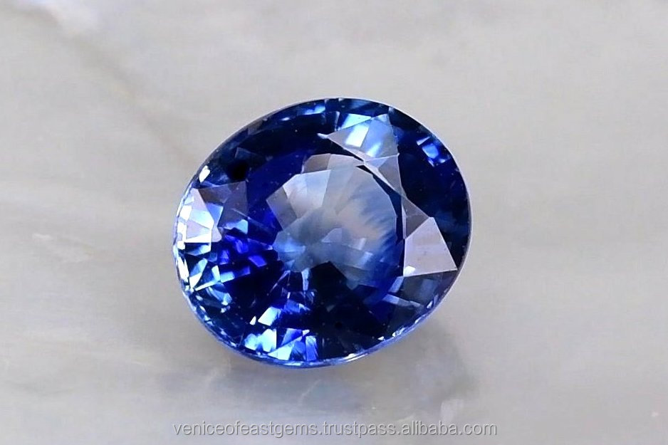 [Oval Shape] Grade AA - Natural Vivid Blue Ceylon Sapphire at wholesale price per carat - available in variety shapes