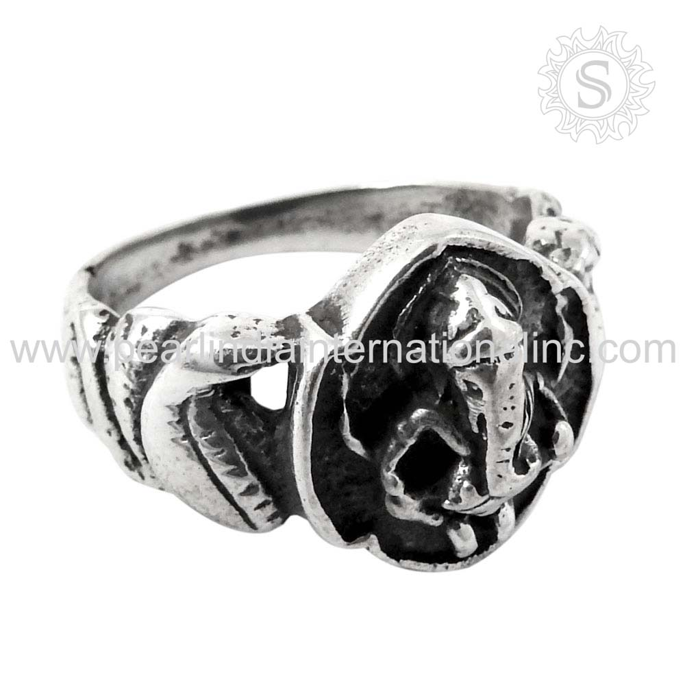 Religious 925 Silver Ring For Women Wholesale Sterling Silver Jewelry Supplier