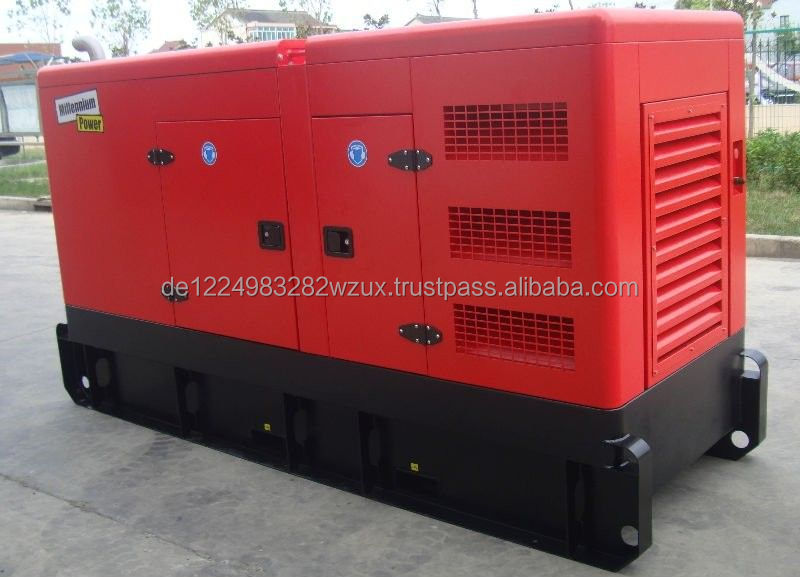 good quality silent canopy 85kva 250kw diesel generator with cummins
