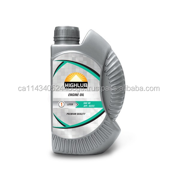 SAE 40 Motor Oil - Lube- Automotive- Lubicant oil for high motorcycle- cars- diesel engines - Africa