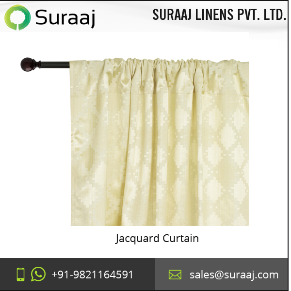 Premium Quality Beautiful Diamond Lattice Jacquard Weave Curtain for Sale