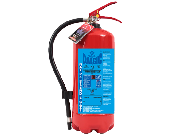 DALGIC HCFC Blend E 4 kg Portable Fire Extinguishers