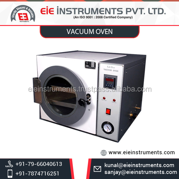 Top Grade Vacuum Oven by Leading Manufacturer at Affordable Price