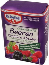 Dr. Oetker Canning sugar for Berries Confiture + Jelly 500g
