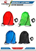 Swimming Drawstring Beach Bag Sport Gym Waterproof Backpack Duffle Sack Bag