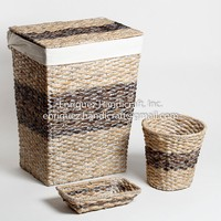 Set of 3 Woven Bathroom Set