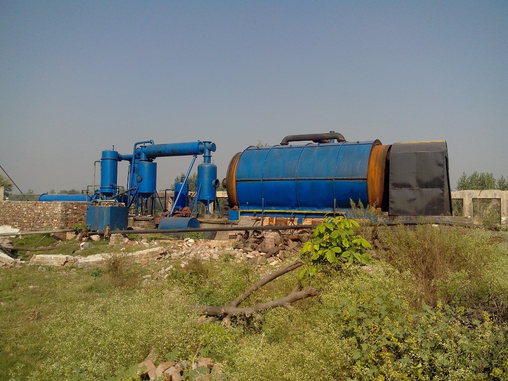Tire, Tyre pyrolysis oil plant new and used