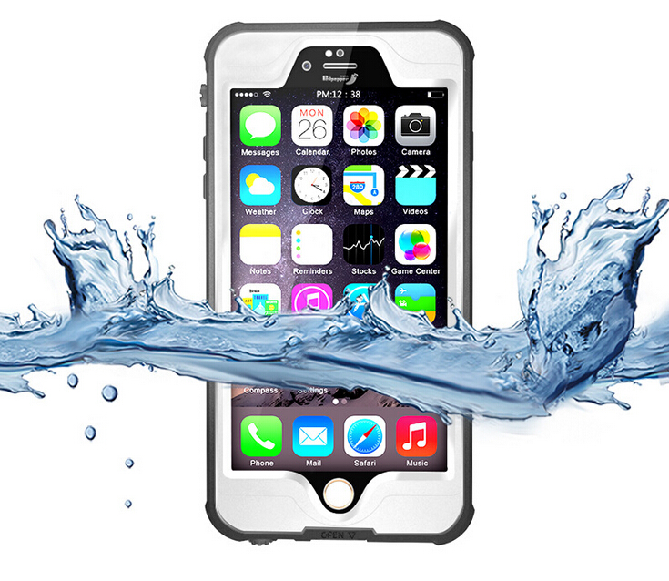 Luxury waterproof shockproof phone case Diving Underwater Watertight Cover for iPhone 6/6S 4.7 inch Hard PC+TPU Hybrid Cover