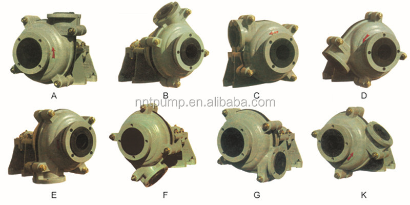 Abrasion Resistant Chemical Processing Drainage Slurry Pump