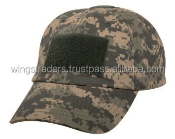 Digital camo Operator Tactical Baseball Cap Hat By Wings Traders