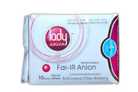 Lady Anion Sanitary Napkins - Day use - 240mm