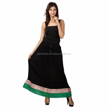 New summer wear women latest traditional skirt
