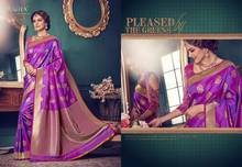 KANCHIPURAM SILK SAREE TUSSAR SILK WEDDING SAREE DESIGNER WHOLESALE