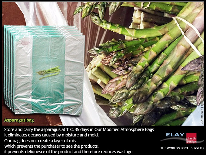Asparagus protection bag