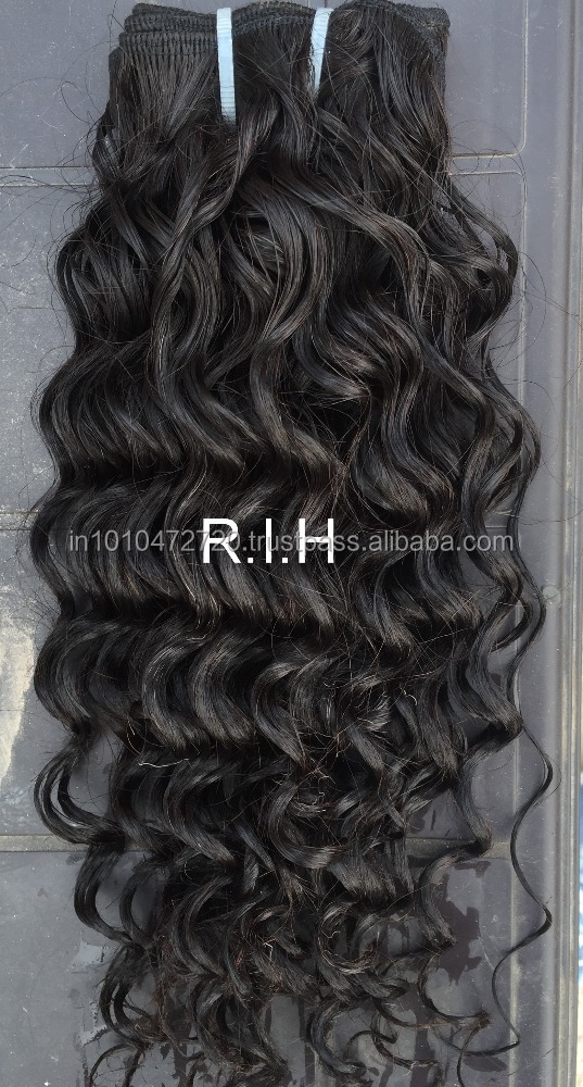 Alibaba India New Products High Quality Wholesale 100% Virgin Indian Remy Temple Hair