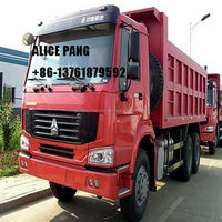 Diesel CHINA USED SINOTRUK HOWO DUMP TRUCK for sale