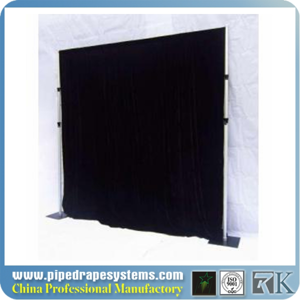 wholesale pipe and drape,used deluxe pipedrape backdrop for wedding