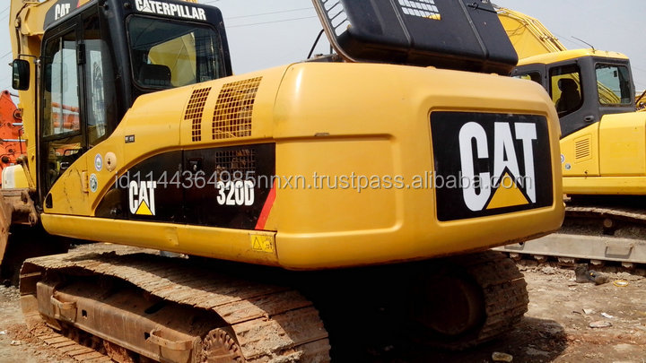 CAT 320D used excavator kobelco excavator used parts in shanghai for sale