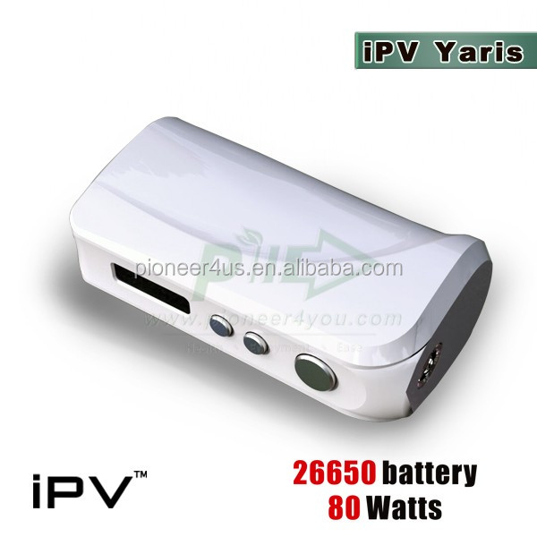 2016 Hottest!!! ipv8/ iPV400 /ipv6x /ipv Yaris vapor mod kit 26650 e cig box mod new released by Pioneer4you 213w box mod