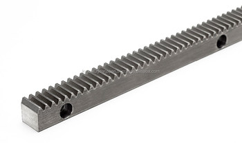 Rack gear with bolt holes Module 3.0 Carbon steel Length 1000mm Made in Japan KG STOCK GEARS