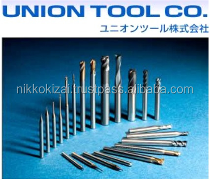 Good cutting available made in japan carbide end mills for Union tool for mold for metal body mobile phone at good price alibaba