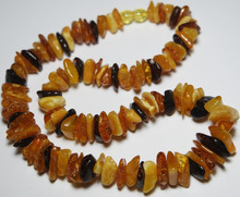 Authentic Natural Genuine Baltic Amber Necklace Multi-Color n003