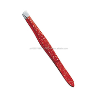 High Quality Eyebrow Tweezers/ Crystal Tweezer/eyebrow tweezer