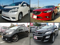 Durable Japanese previously-owned car for used car market