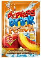 Flavored powder instant drink Peach