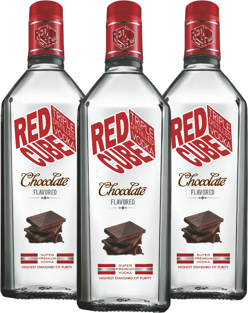 Red Cube Chocolate Flavoured Vodka - Buy Chocolate Vodka,Smirnoff ...