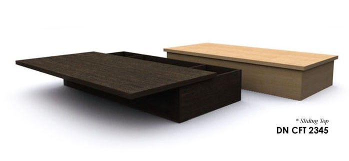 COFFEE TABLE (sliding top)- DN CFT 2345