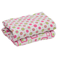 cotton cellular muslin blanket with customized design and print
