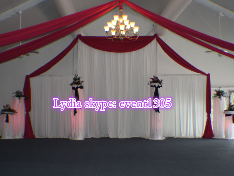 wholesale Pipe and drape aluminum event decoration backdrop photo booth