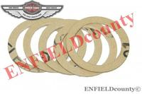 NEW OIL FILTER GASKET 5 UNITS FOR ROYAL ENFIELD BULLET 144600