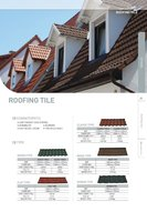 STONE COATED ROOFING TILE