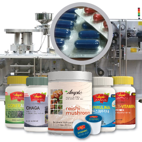 OEM Dietary Supplements Contract Manufacturing