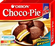 Orion Choco pie 180g / Chocolate Lotte Pie 60gr