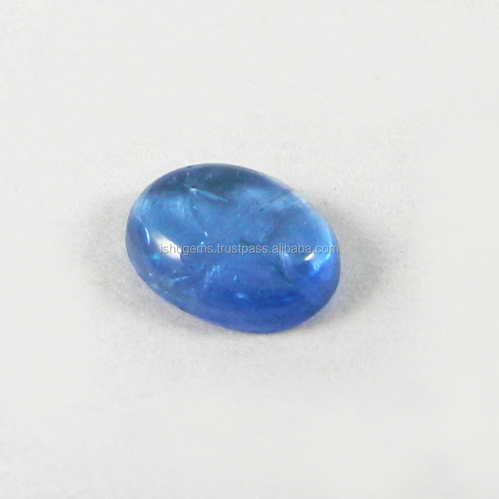 1.05 cts Natural Tanzanite 7.5x6mm Oval Cabochon for jewelry setting loose gemstone IG3196