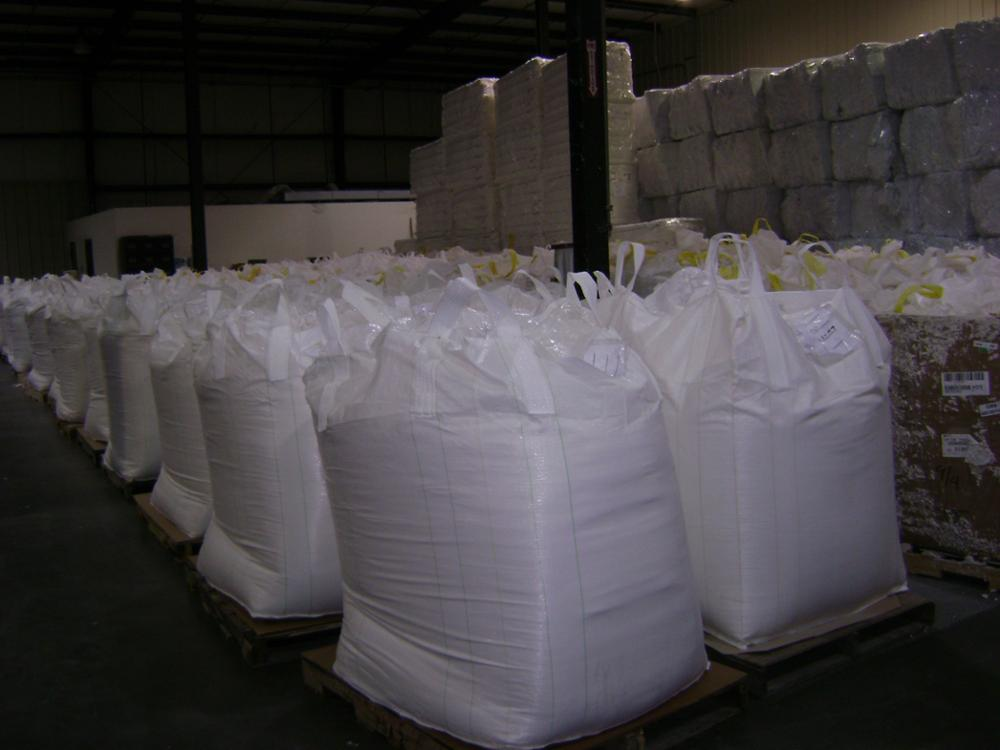 Reclaimed Super Absorbent Polymer