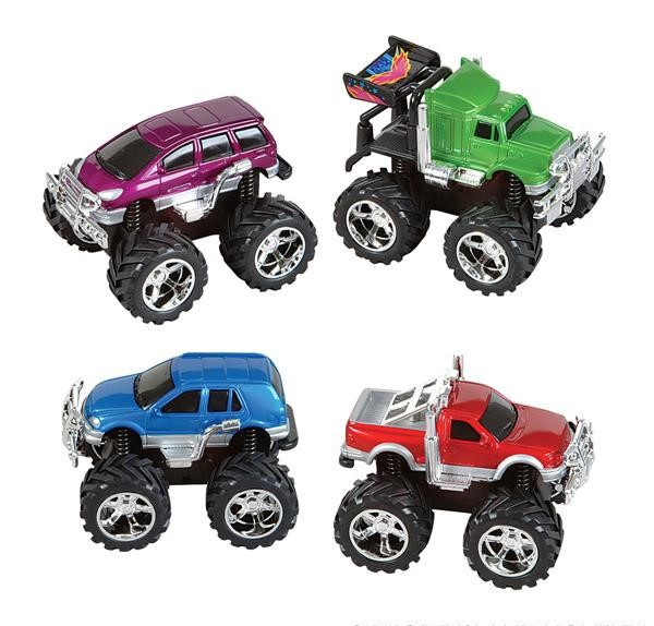 "5""FRICTION 4x4 MINI MONSTER TRUCK"