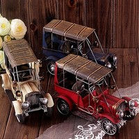 Iron Model Decoration Car painted mixed colors 230x120mm Sold By PC