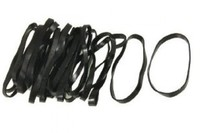 Soft Black Rubber Band (Ranger)(RB 102)