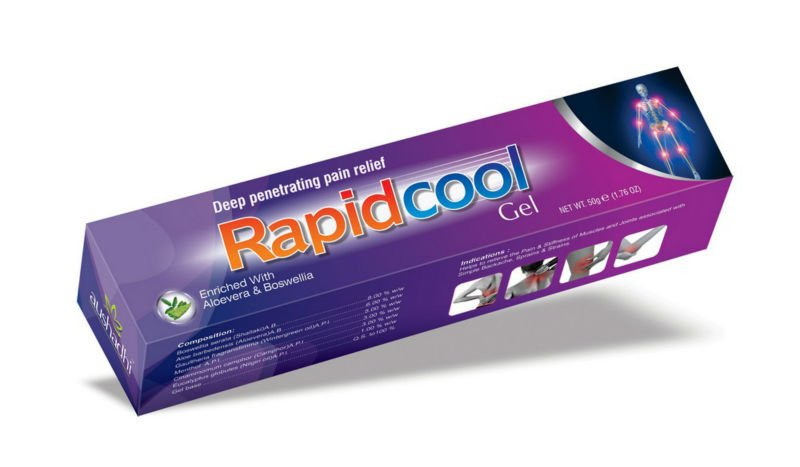 Health & medical product Rapidcool pain relief gel