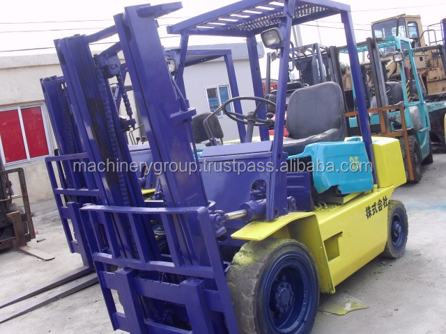 Used Japan 2.5 Ton Forklift FD25 Good Price