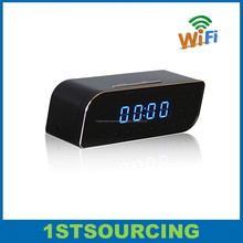 P2P 1080P WIFI alarm clock camera