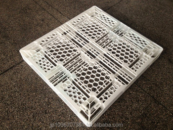 Ultra Light Weight Module Plastic Pallet 1080*990*120, 5.7kg, Natural