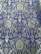 kinkhab brocade silk fabrics made from pure silk suitable for home decor and interior decorators