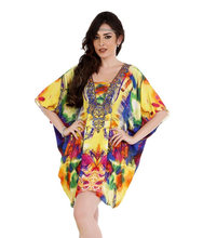 Maxi Caftan, Plus Size, Kaftan, Bali Batik, Resort Wear, Coverup, Summer Dress, Maternity Dress/Resortwear -Digital Print Kaftan