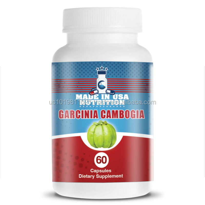 BEST Weight Loss 60% HCA Diet Pills with Pure GARCINIA CAMBOGIA