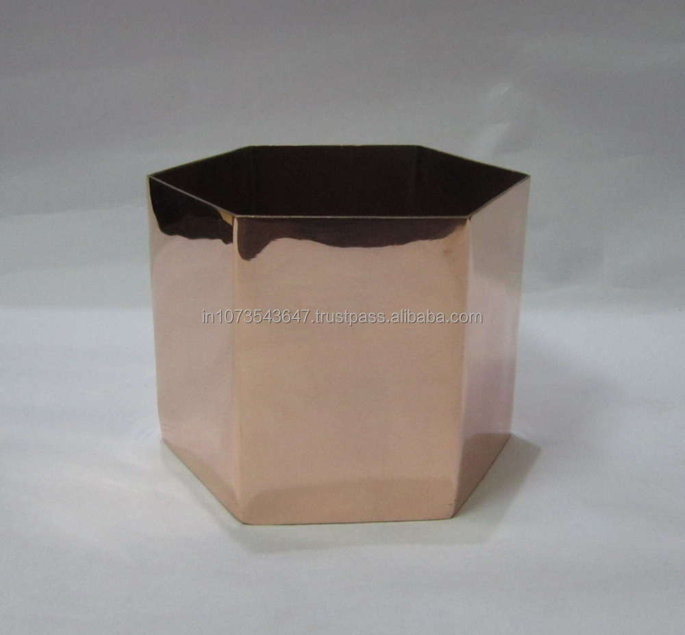 Copper Planter copper planer pots india